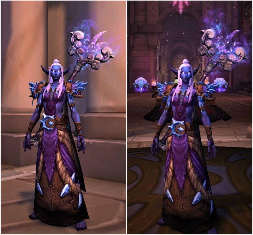 Shadowmoon Nightborne Mage : Transmogrification | Warcraft