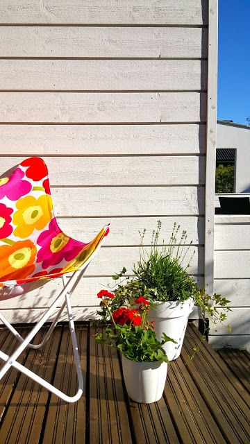 """Aperitivo at Marzia's"" (Photo: Katja K.) ⎮ recyclie.blogspot.fi #marimekko"
