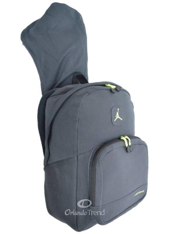 74bbcbf841 Nike Air Jordan Backpack Gray Green Hoodie Bag Mens Women Girls Boys Kids  School  Nike  Backpack  Jordan  OrlandoTrend  Basketball  Hoodie