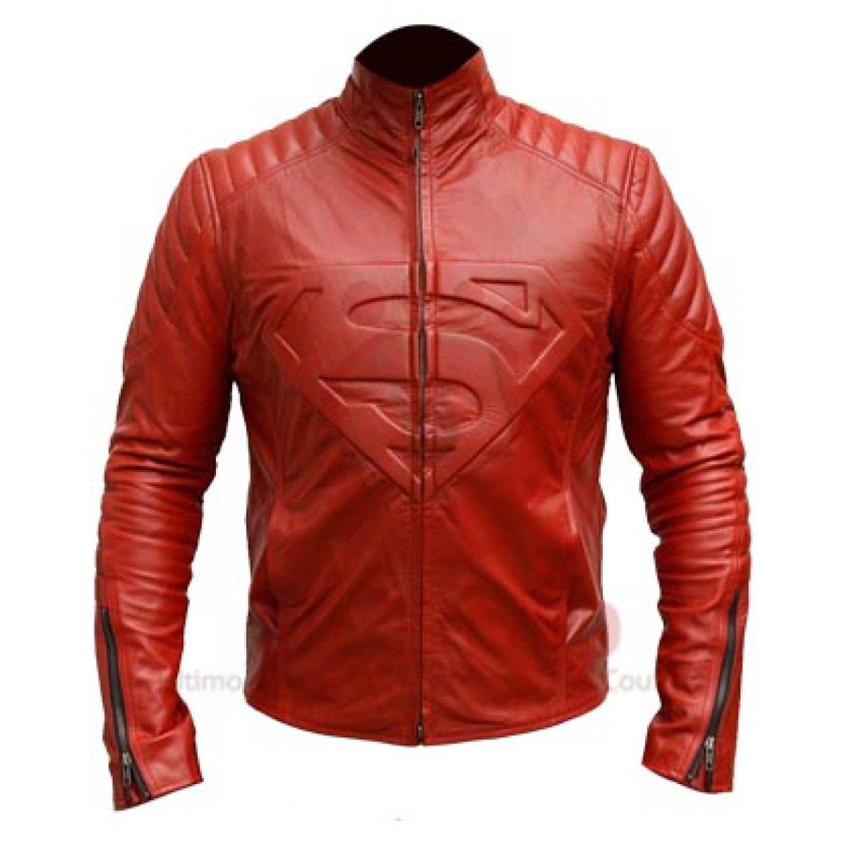Superman Smallville Red Leather Jacket | Leather jacket
