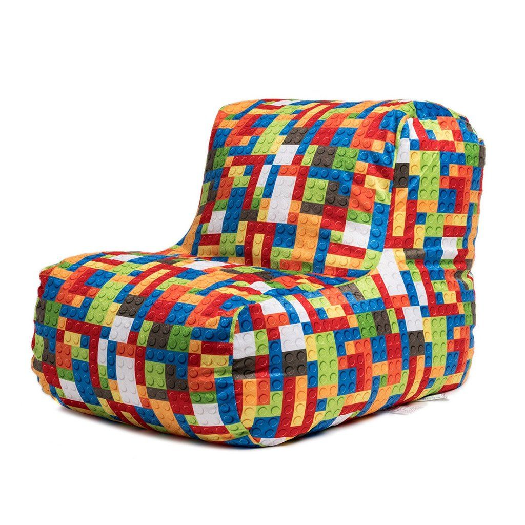 Strange Kids Lego Bean Bag Chair In 2019 Bean Bag Chair Bean Bag Squirreltailoven Fun Painted Chair Ideas Images Squirreltailovenorg