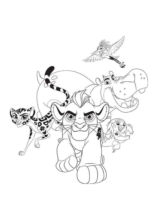 Increíble Guarida De Leones Para Colorear Imágenes - Dibujos Para ...