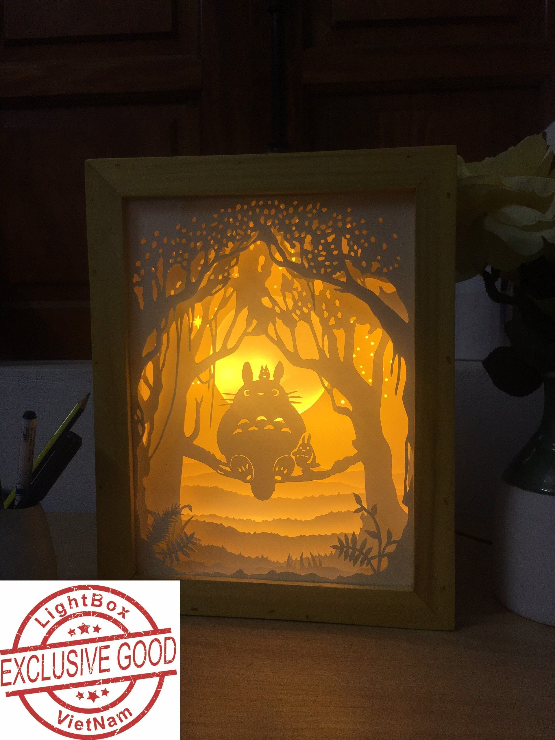 Ghim Tren Paper Cutting Light Box Svg Template Files