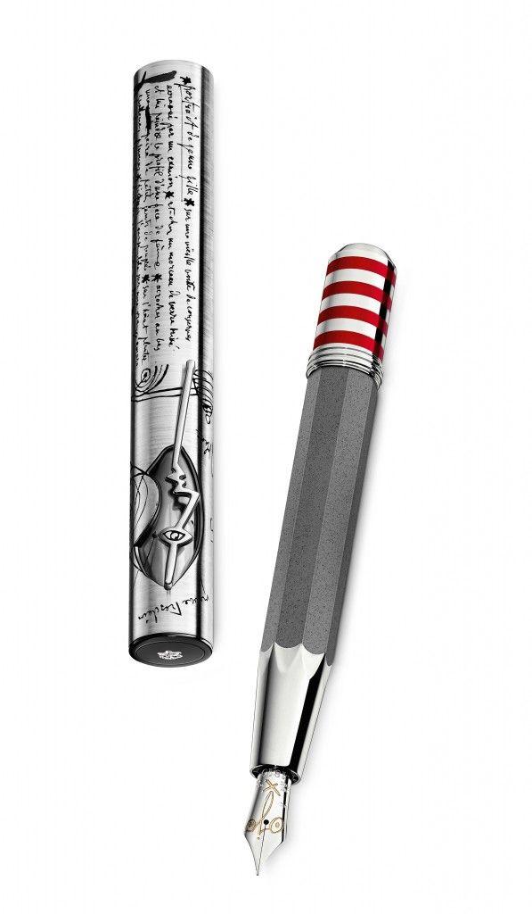 """Montblanc - Artisan Edition: Pablo Picasso  Le détail """"ojo"""" sur la plume même est superbe!"""