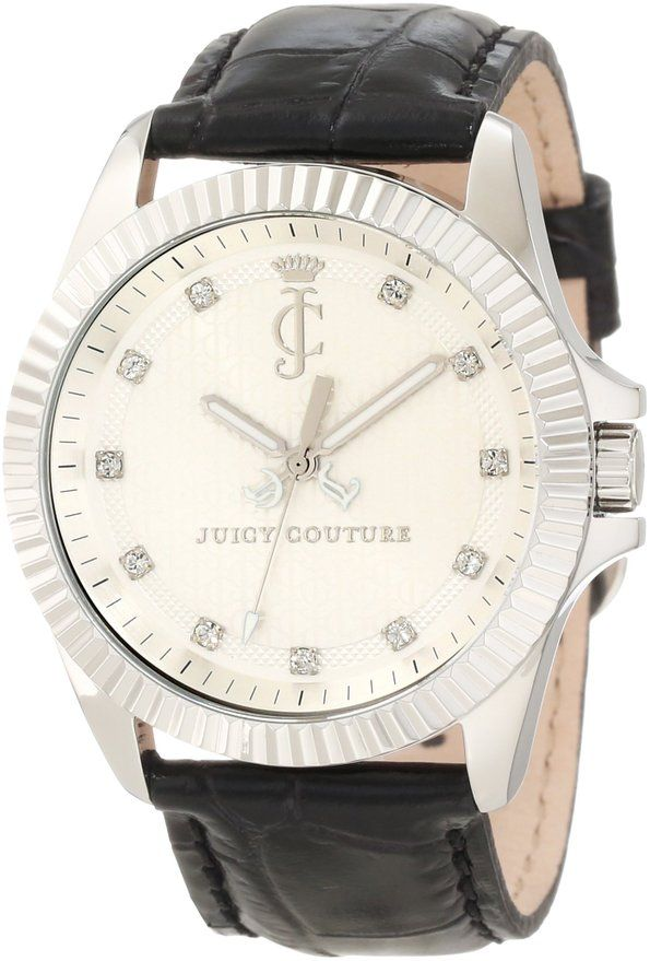 Juicy Couture Women's 1900931 Stella Croc Embossed Leather Strap Watch #JUICYWATCHES #JUICYWOMEN #WOMENSWATCHES #AMAZONSHOPPING #MULTIWATCHBRAND
