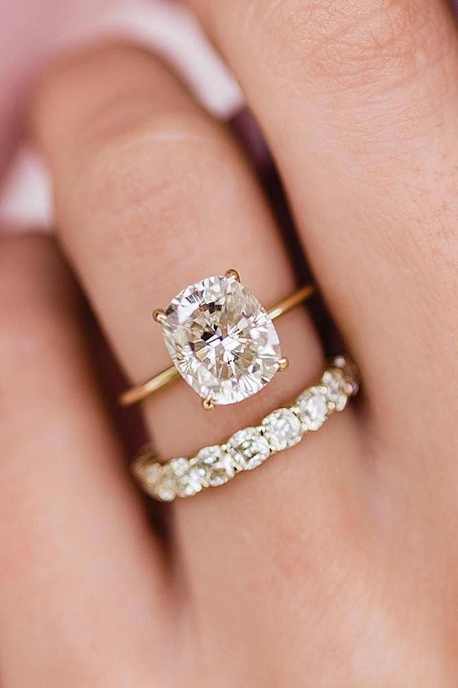 Ruby Halo Ring Ruby Engagement Ring Two Tone Gold Flower Ring Ruby