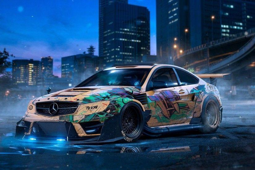 Mercedes Drift Com Imagens