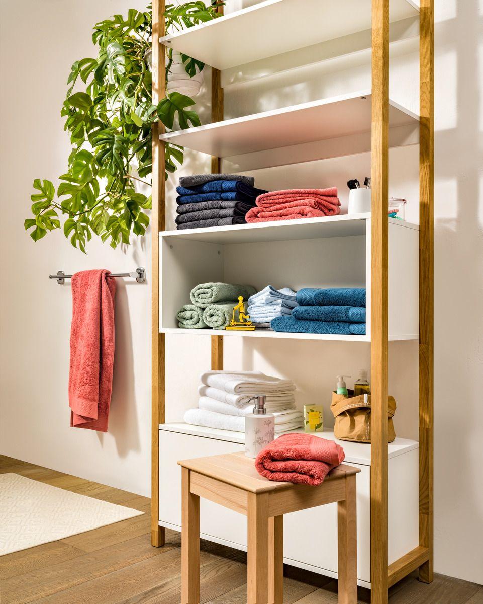 micasa badezimmer mit regalkombination eliah und frottierwäsche, Badezimmer ideen