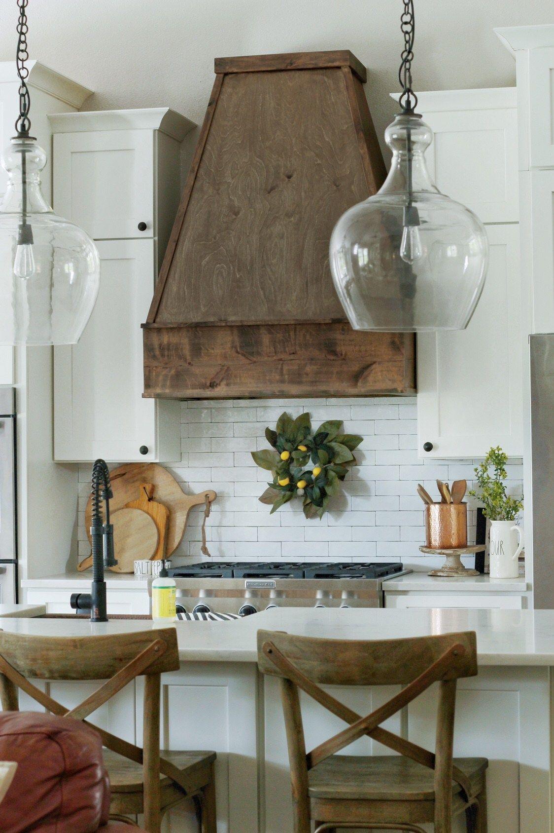 Diy wood hood vent kitchen vent hood kitchen vent