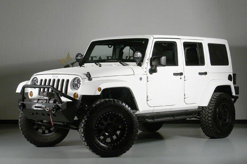 2012 Jeep Wrangler Unlimited 24s Pkg We Finance Dallas Texas