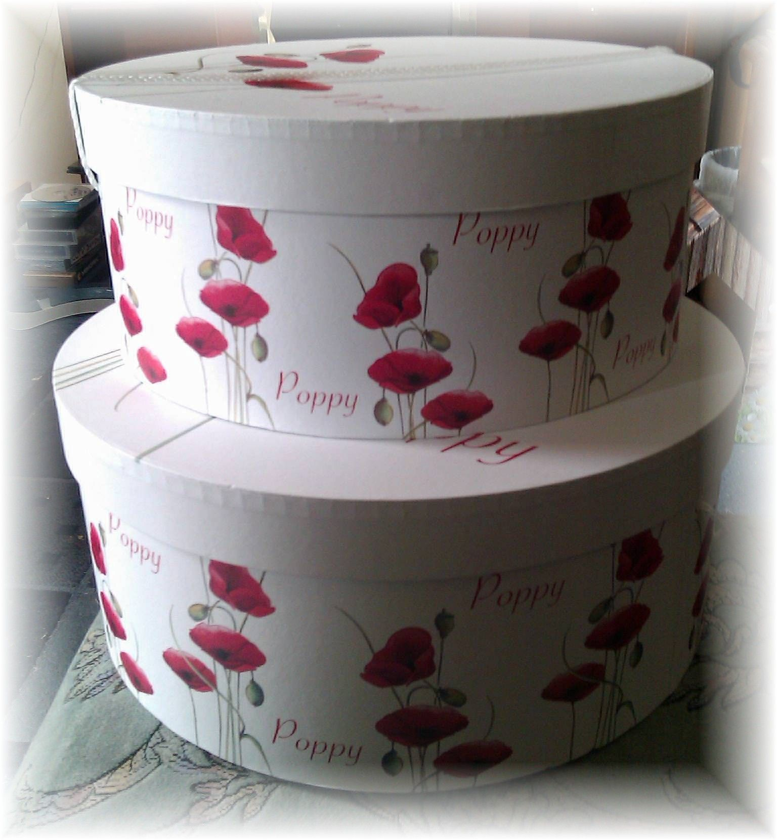 Storage Hat Boxes From Dunelm
