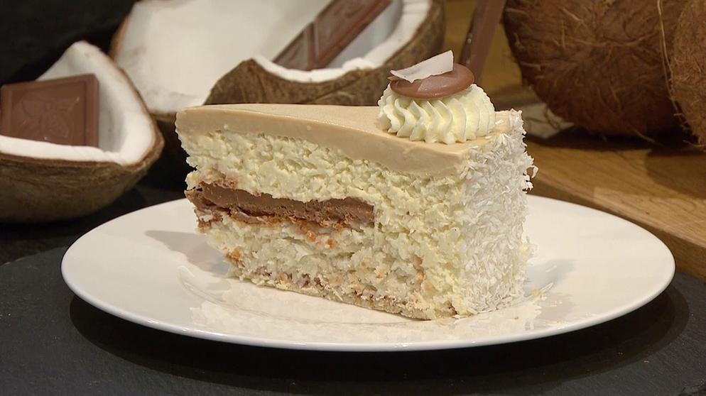 Wir In Bayern Rezepte Kokos Karamell Torte Br De Karamell Torte Kuchen Und Torten Torten