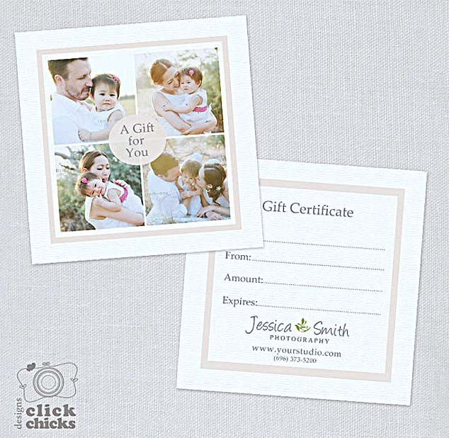 The Advantages of Offering Photography Gift Certificate Template
