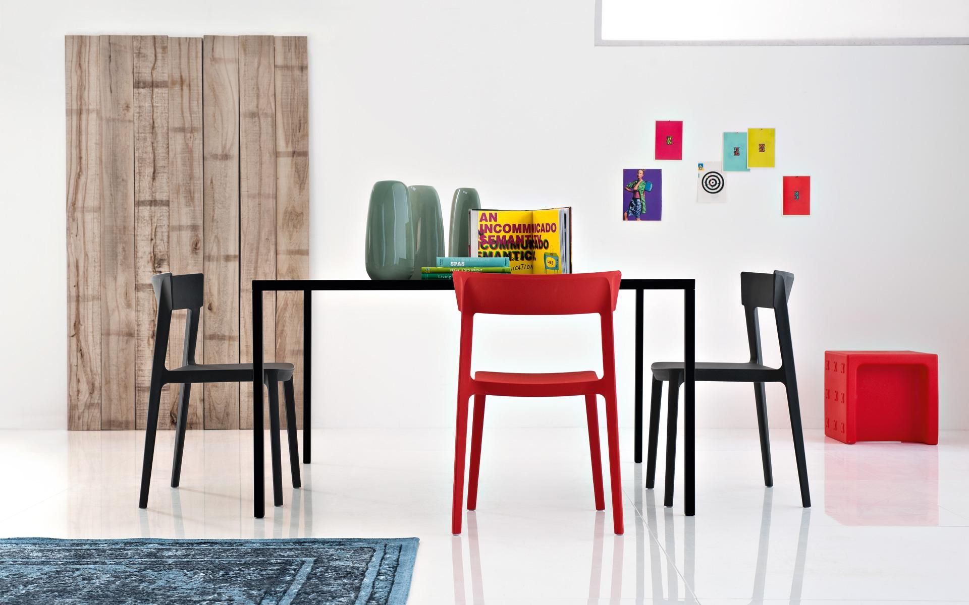 Dress it up or down the new Calligaris Club chair is fy sleek and functional sale now Modern Chairs Pinterest