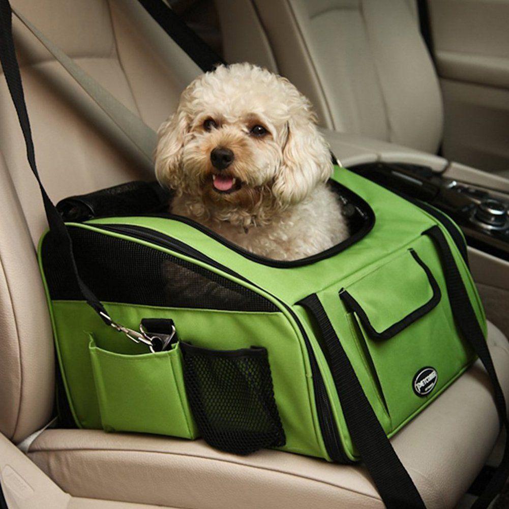 Pet Car Seat Carrier Portable Treat Me Pet Booster Seat