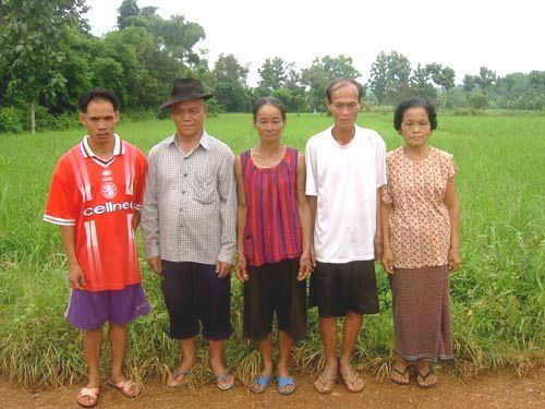 Villagers in Thailand witness two-foot tall 'alien' being in rice field - Mae Chan District, Thailand - September 9, 2005 - UFO Evidence