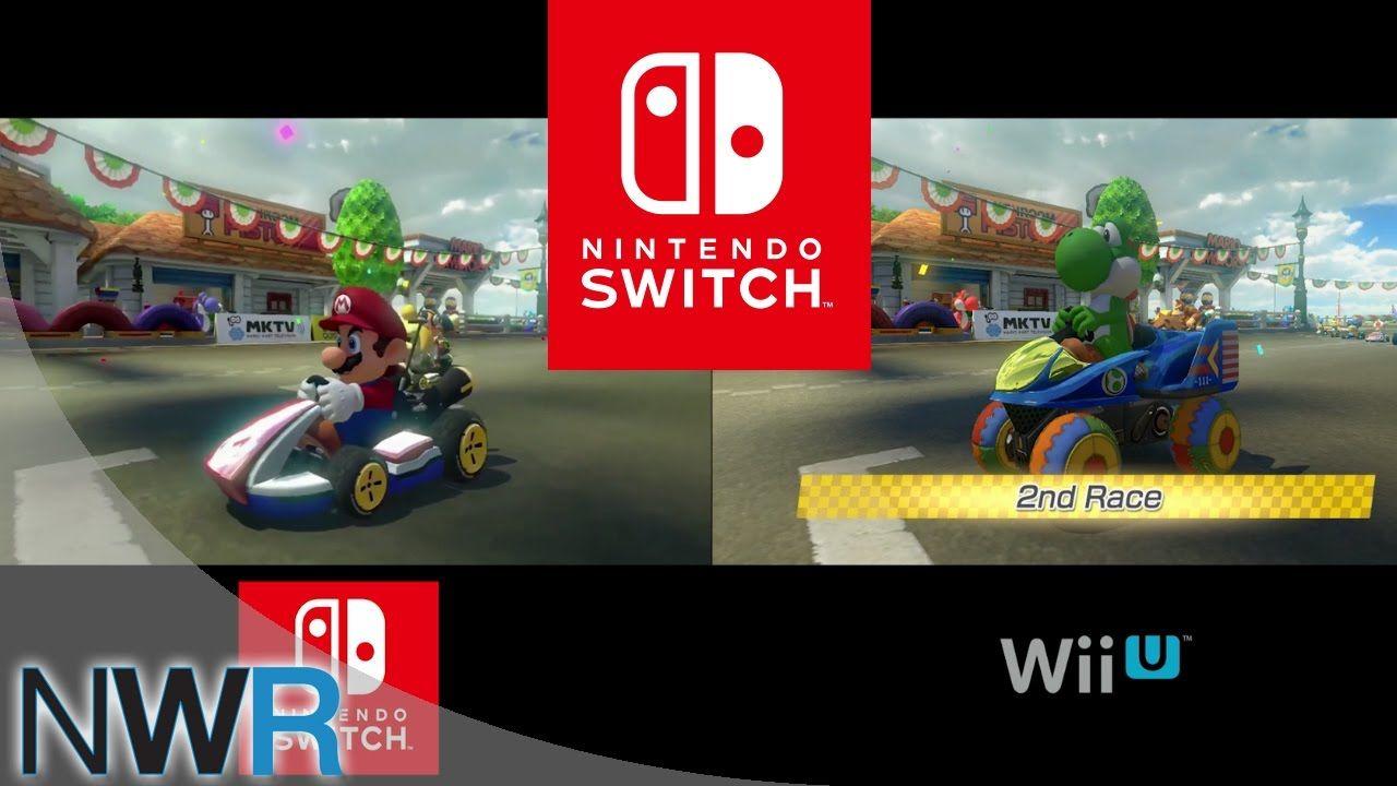 Mario Kart 8 Switch Vs Wii U Comparison Mario Kart Mario Kart