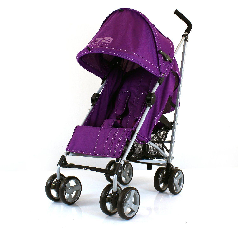 ZeTa Vooom Stroller Buggy Pushchair Rain Cover Included