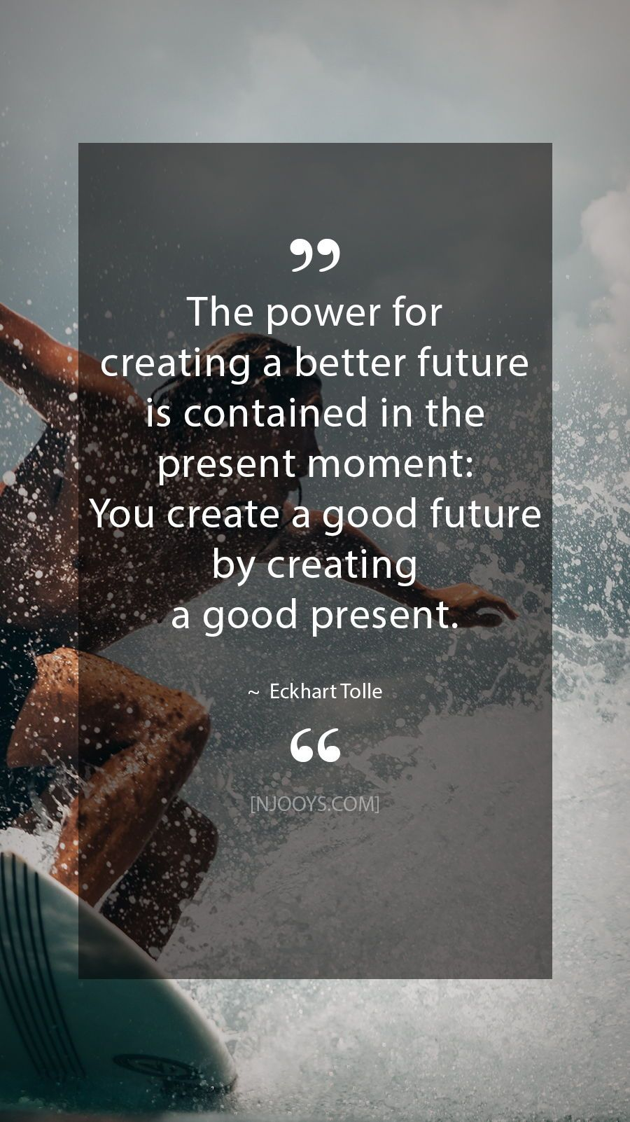 Eckhart Tolle Quotes The Power For Creating A Better Future
