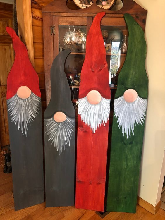 Gnome Boards #outdoorchristmasdecor #outdoorchristmasdecorations #christmasdecor…