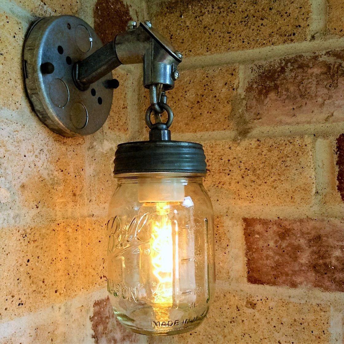 The Jar of Light Pint Mason Jar