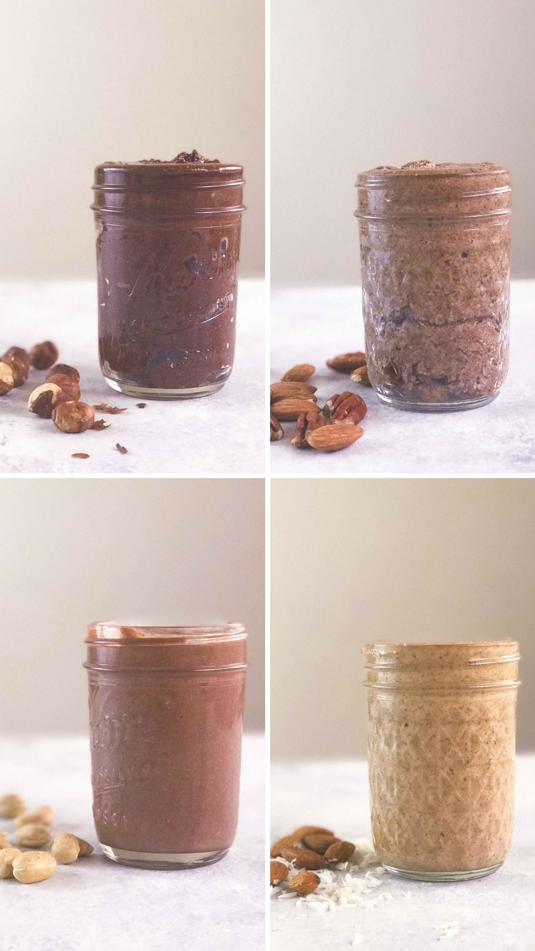 4 Homemade Nut Butters