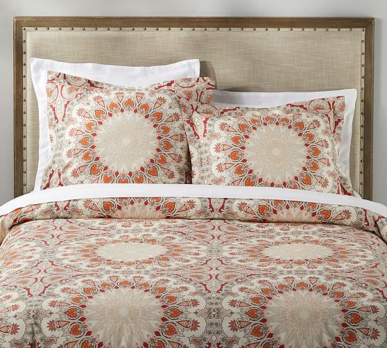 Valencia Percale Duvet Cover & Shams