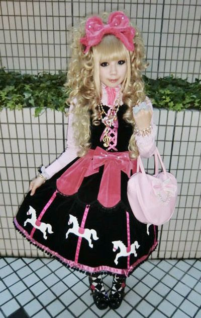 Love the black and pink <3