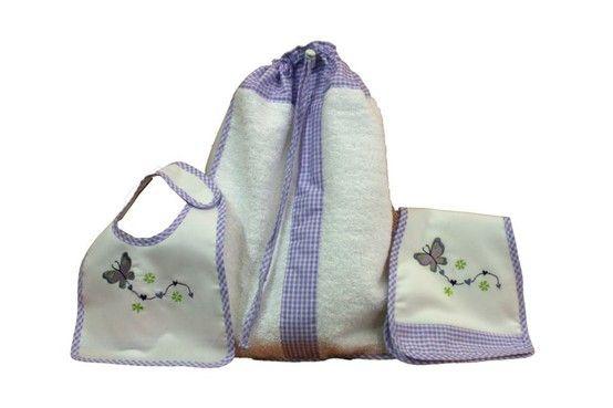 #maruzubiriadf #babygirl #baby #lila #babystuff #bag #laundry #bib #butterfly #teddybear #customizeyourlife #mynameonit