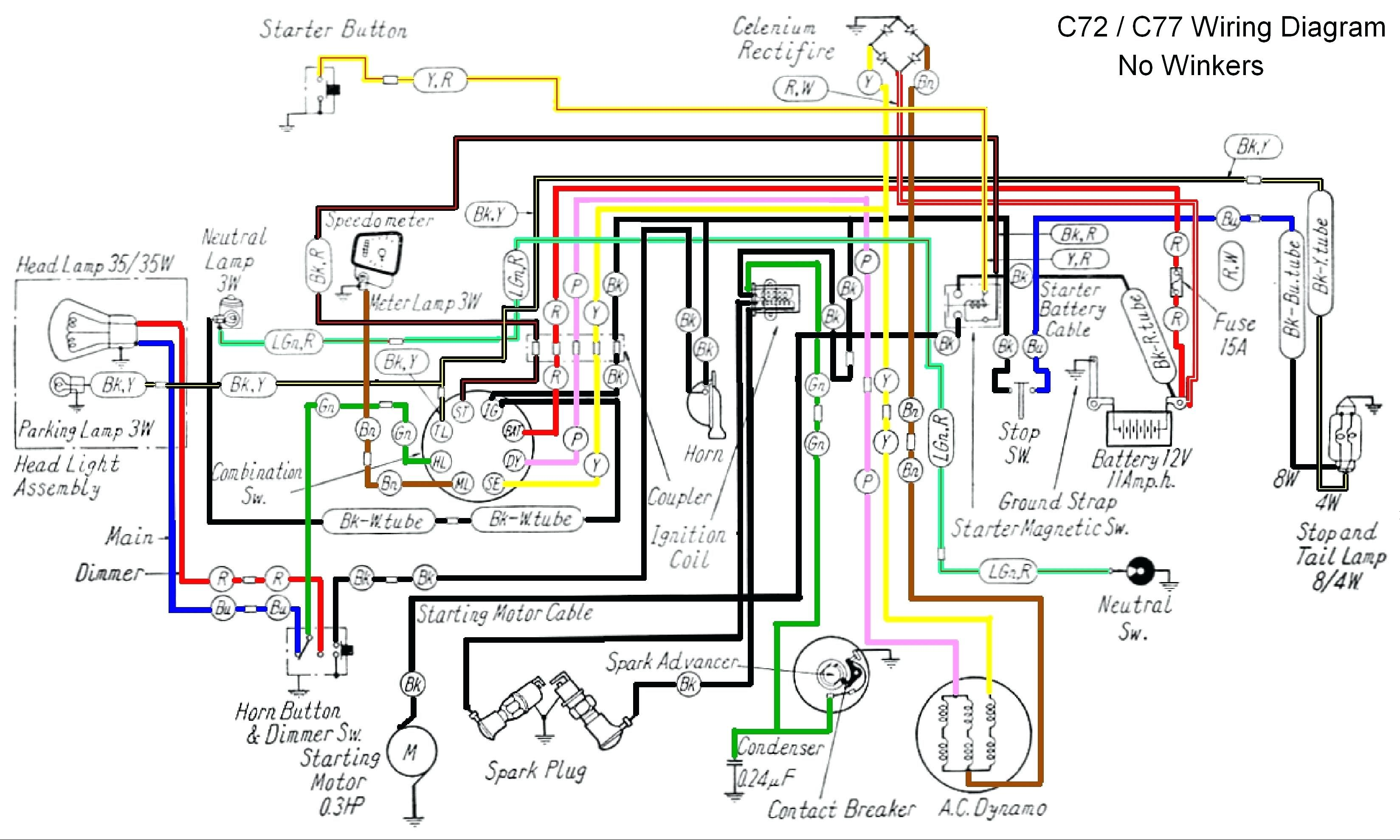 Honda Xr 125 Wiring Diagram Volovets Info At