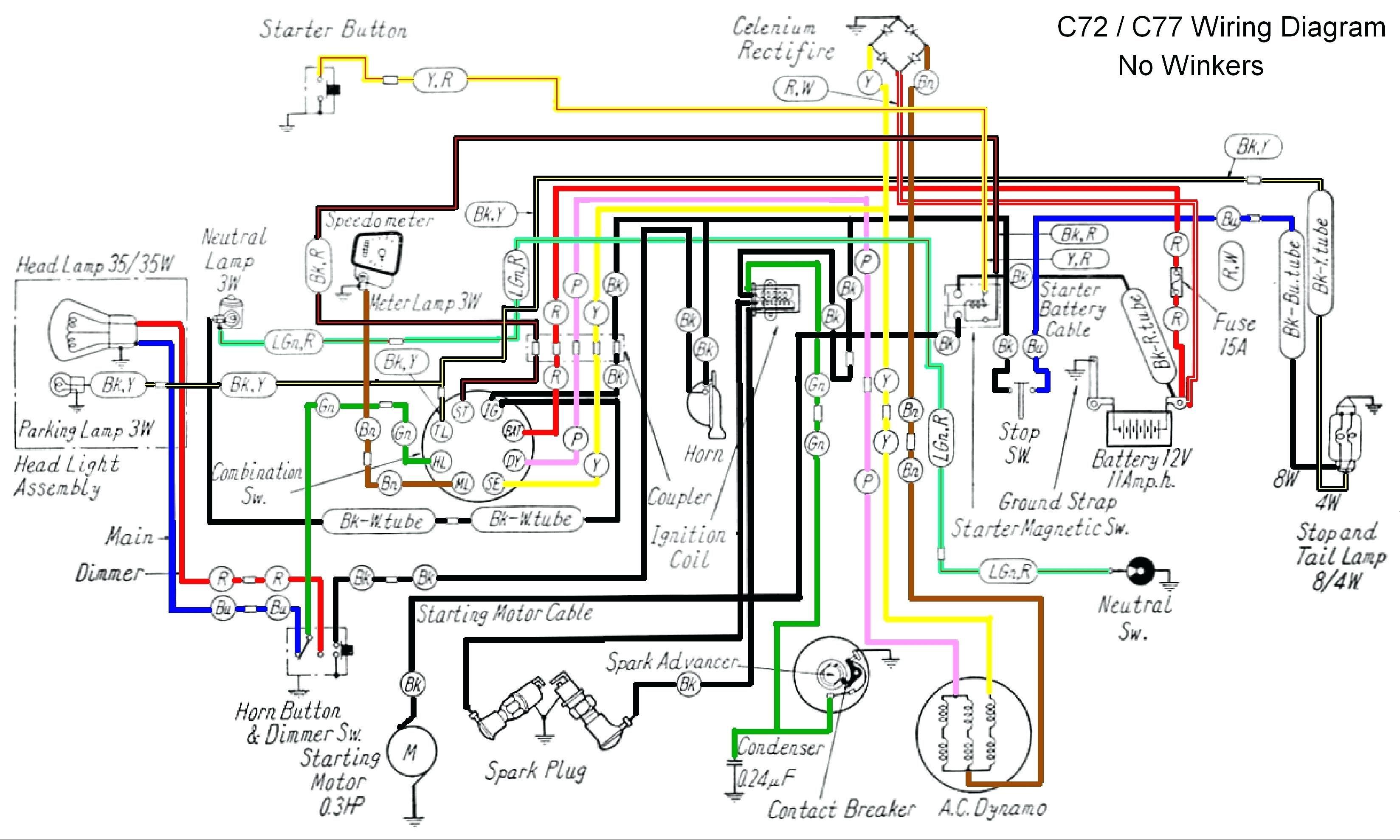 Honda Xr 125 Wiring Diagram Volovets Info At | Motorcycle wiring, Honda  motorcycles, Honda ex5Pinterest