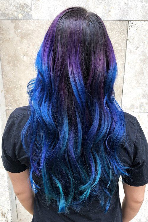 I dyed my hair blue and I love it!! — Kristen Marina