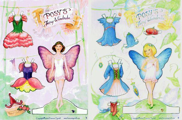 Having fun with fairies.