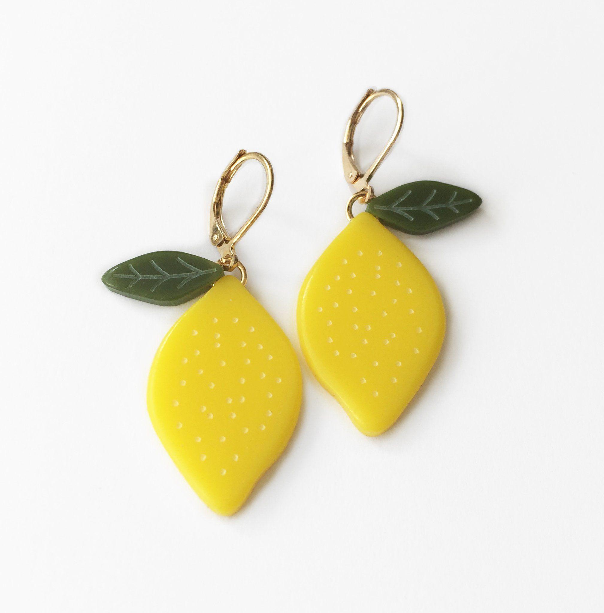 Photo of Lemon Earrings