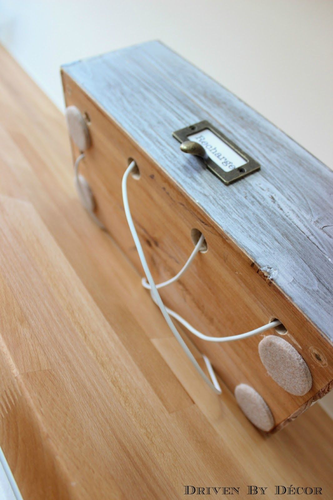 Diy Family Charging Station Electronic Amp Storage Ideas