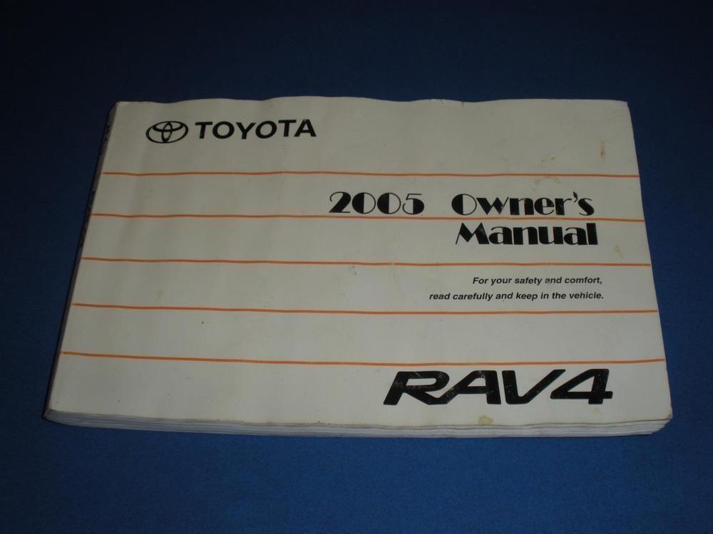 2005 toyota rav4 owners manual book guide owners manuals pinterest rh pinterest com 2008 Toyota RAV4 2005 rav4 service manual pdf