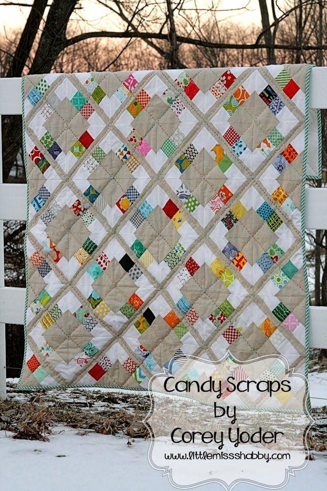 Candy Scraps Quilt - Moda Bake Shop