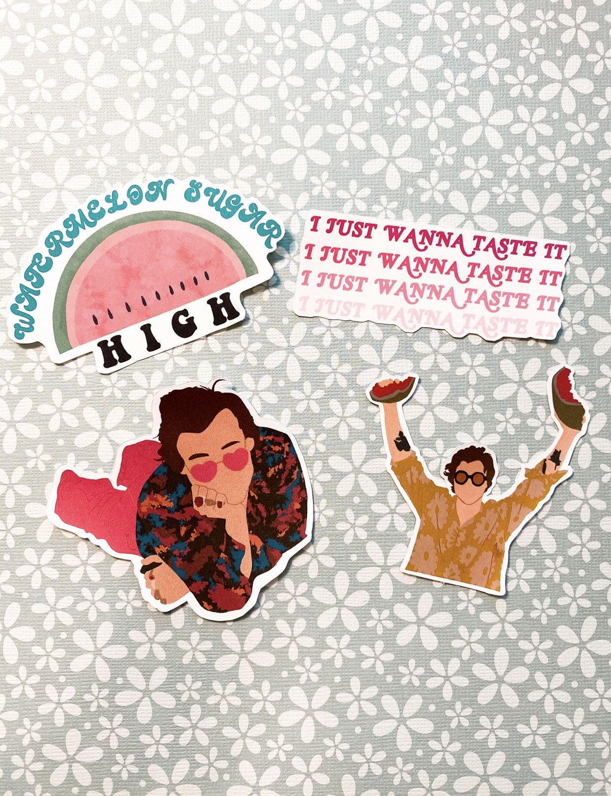 Excited To Share This Item From My Shop Harry Styles Watermelon Sugar Inspired Sticker Pack Harrystyles Harrystyles Harry Styles Harry Styles Pictures Harry