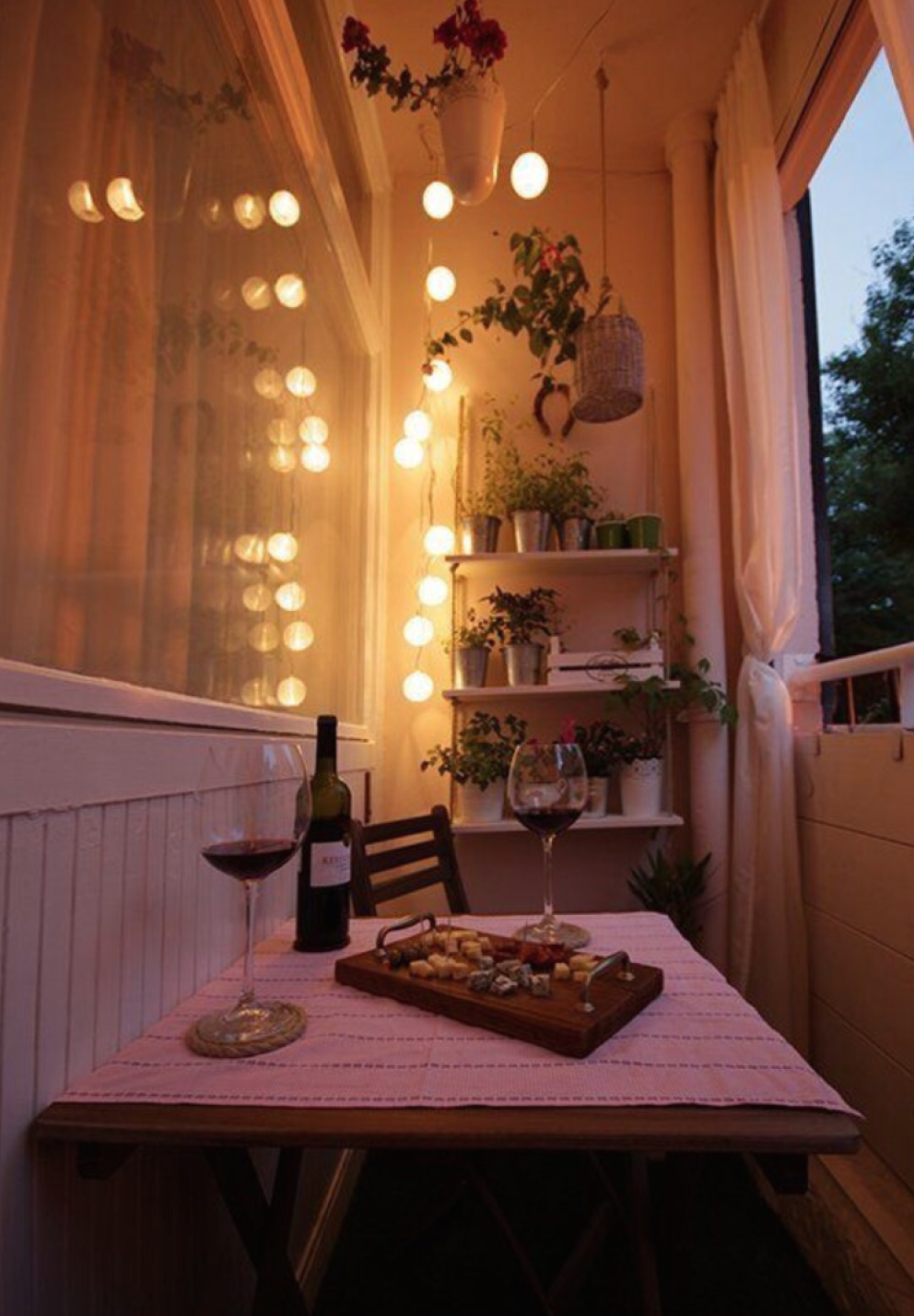 Apartment balcony ideas pictures to pin on pinterest - Someday We Will Have Our Own Balcony And It Will Be Teeny Tiny And We Can Redo It Before After The Teeny Tiny Balcony Total Makeover Decorating