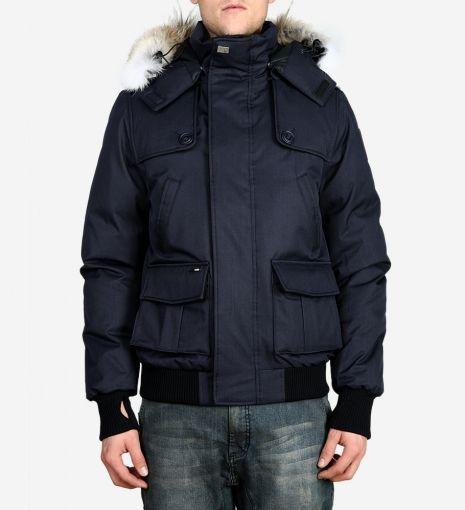 Nobis Cartel Men's Bomber Jacket PolyWool Daunenjacke Herren