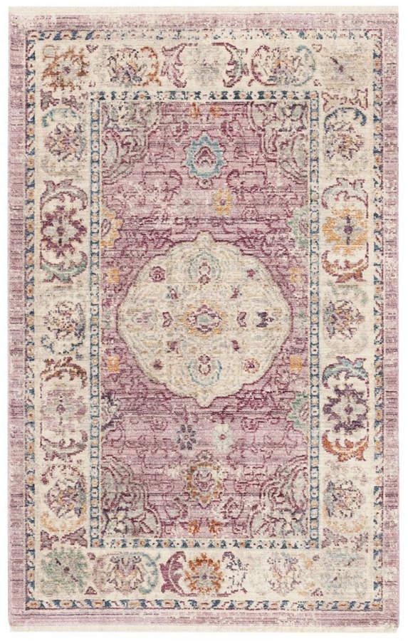 Safavieh Illusion Rose And Cream 3 X 5 Area Rug Area Rugs