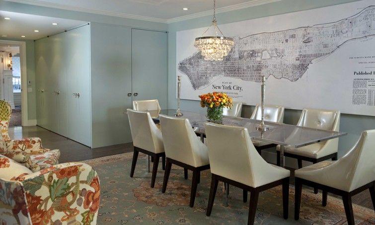Blue Green Dining Room Farrow & Ball Teresa's Green Antique Impressive Blue Green Dining Room Inspiration Design