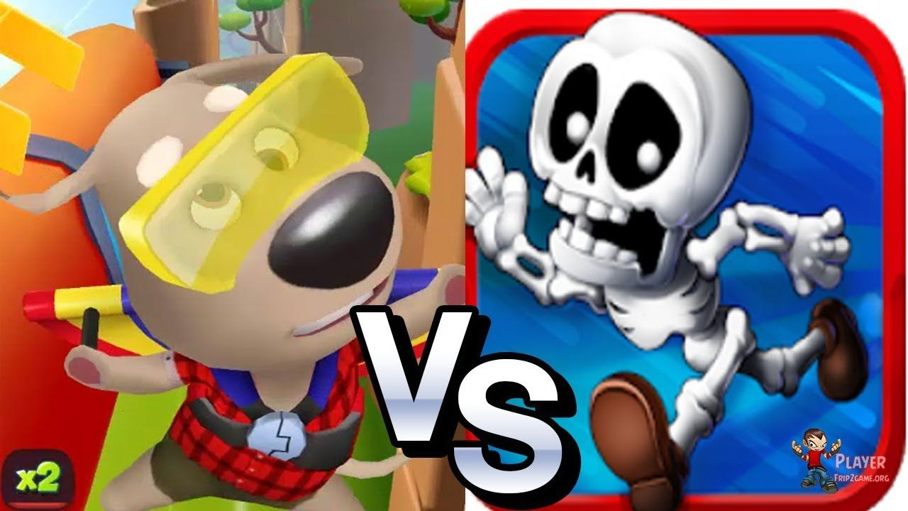 Boney Run Vs Talking Tom Gold Run 2019 Talking Ben iOS