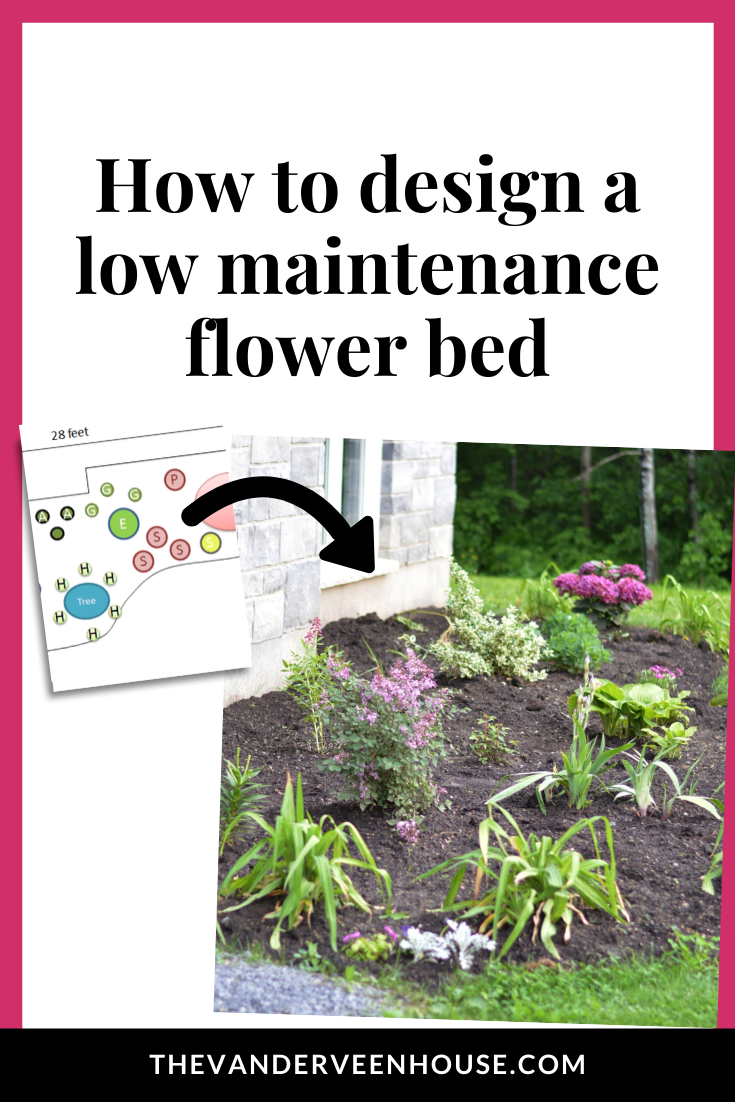 Photo of The best tips for designing and planting a low maintenance flower bed • The Vanderveen House