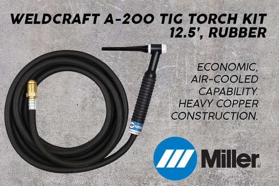 Miller Weldcraft Tig Torch A200