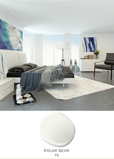 Slightly Cool And Blue In Tone, Polar Bear Winter White Helps Create An  Expansive Feel