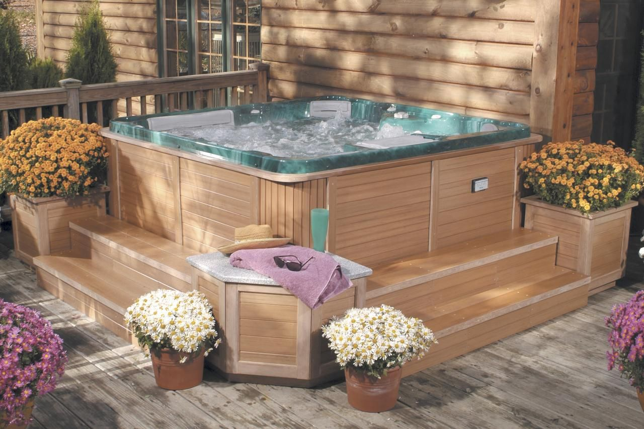 Installing a Spa on Your Deck   Home Decor   Pinterest   Decking ...