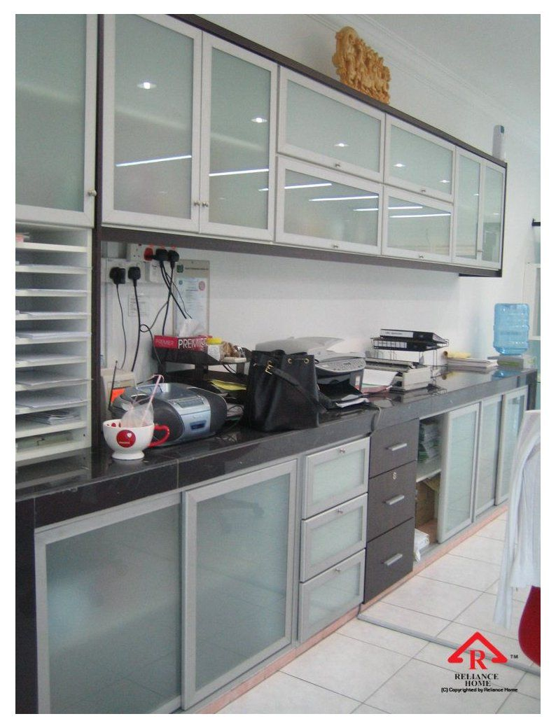 Aluminum Frame Glass Kitchen Cabinet Doors 9 sliding glass ...