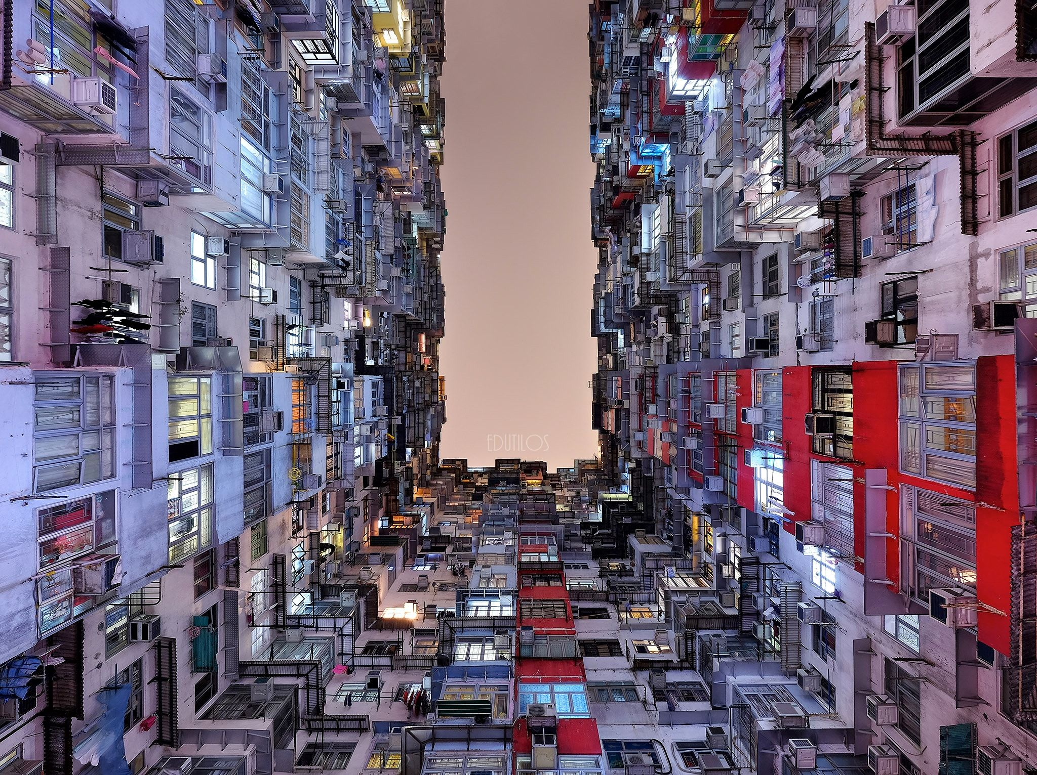 A Thousand Homes Yick Cheong Building Quarry Bay Hong Kong - Photographer captures madness real estate hong kong