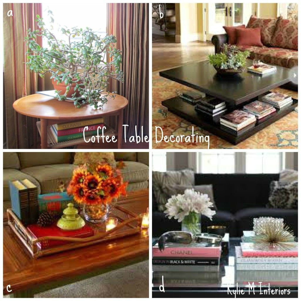 How To Decorate A Coffee Table With Books